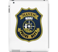 Haven PD. (Alternate) iPad Case/Skin