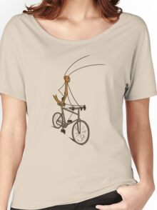 Stick Bug Cyclist Women's Relaxed Fit T-Shirt