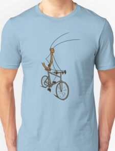 Stick Bug Cyclist T-Shirt