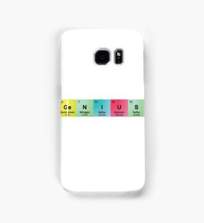 Genius Spelled with Element Symbols Samsung Galaxy Case/Skin