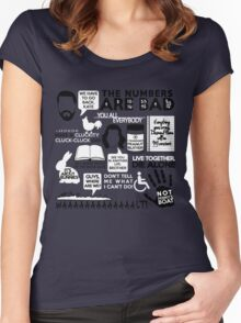 Lost Quotes Women's Fitted Scoop T-Shirt