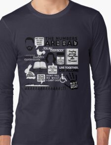 Lost Quotes Long Sleeve T-Shirt