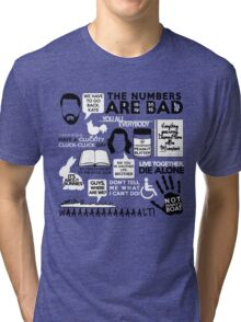 Lost Quotes Tri-blend T-Shirt