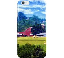 Farm in the Distance iPhone Case/Skin