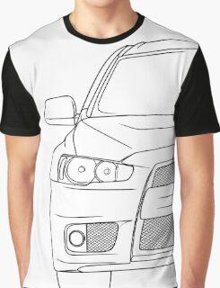Evo 10 outline - black Graphic T-Shirt