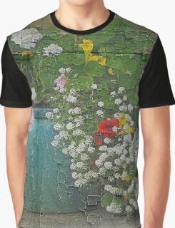Yachats Oregon - Container Gardening Graphic T-Shirt