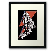 Astronaut Ziggy Framed Print