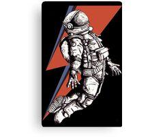 Astronaut Ziggy Canvas Print