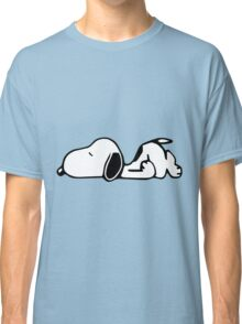 Snoopy Lazy Classic T-Shirt