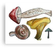 Mushroom Tetris Canvas Print