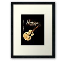 Gibson ES 175 Jazz Player Framed Print