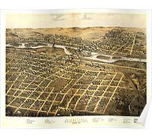 Aurora Illinois (1867) Poster