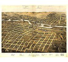 Aurora Illinois (1867) Photographic Print
