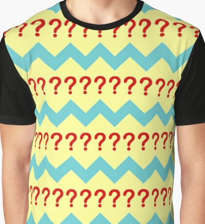 Doctor Who - Seventh Doctor Question Mark Jumper Design Graphic T-Shirt