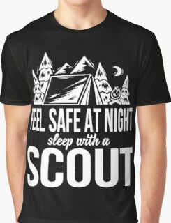 Feel safe at night sleep with a scout Graphic T-Shirt