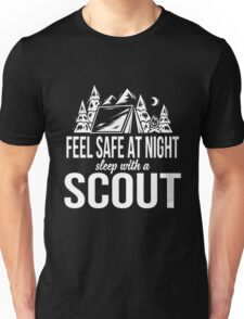Feel safe at night sleep with a scout Unisex T-Shirt