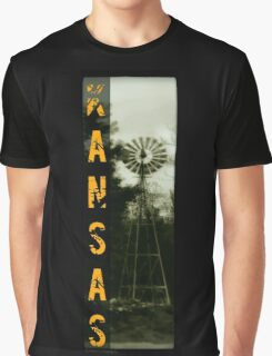 Ask Kansas Graphic T-Shirt