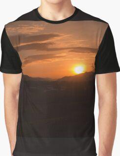 Sunset Reflection Graphic T-Shirt