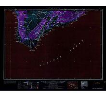 USGS TOPO Map Hawaii HI Hawaii South 349926 1962 250000 Inverted Photographic Print