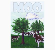 Mooing Cows Graze in a Wisconsin pasture Unisex T-Shirt