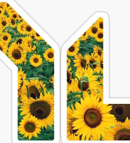 YL Sunflowers Sticker
