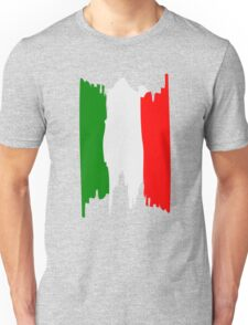 Italy flag art Unisex T-Shirt