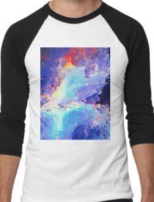 Abstract 60 Men's Baseball ¾ T-Shirt