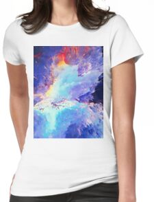 Abstract 60 Womens Fitted T-Shirt