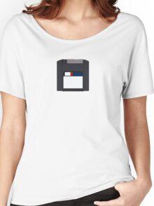 Zip Disc Women's Relaxed Fit T-Shirt