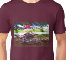 """The amazing effect of the slow speed 12  (c)(t) a PAINT    with humor ! """"Kiss the cool effect"""" without digital effects with compact kodak z 1285! on 29.07.2012 Unisex T-Shirt"""