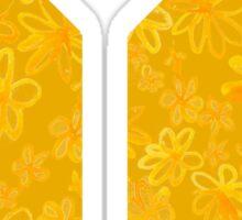 YL watercolor flowers Sticker