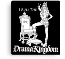 drama kingdom Canvas Print