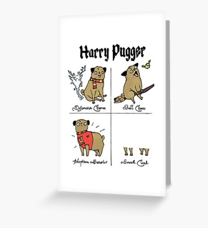 Harry Pugger Greeting Card