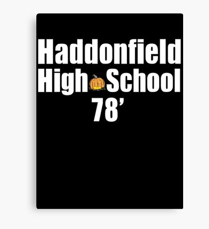 Haddonfield High School Canvas Print