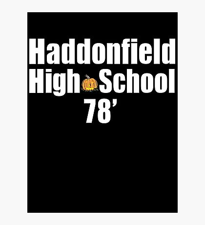 Haddonfield High School Photographic Print