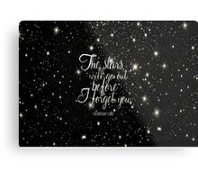 The Stars Will Go Out Metal Print