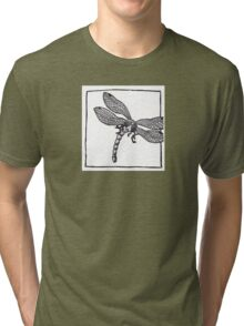 Graphic Dragonfly Tri-blend T-Shirt