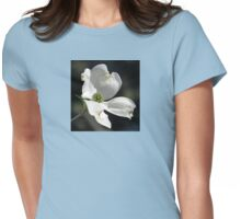 Dogwood Blossoms A Gift of Spring Womens Fitted T-Shirt