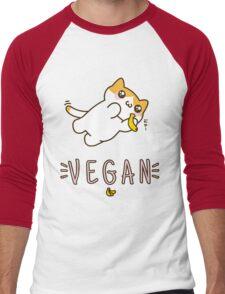 Vegan Men's Baseball ¾ T-Shirt