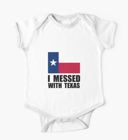 Messed With Texas One Piece - Short Sleeve