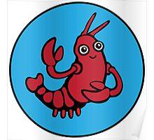 Crayfish Charmer Poster
