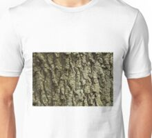 Oak Tree Bark Unisex T-Shirt