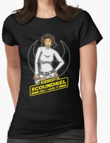 I Kissed a Scoundrel  Womens Fitted T-Shirt