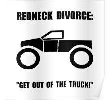 Redneck Divorce Poster