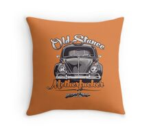 Old Stance Motherfucker Throw Pillow