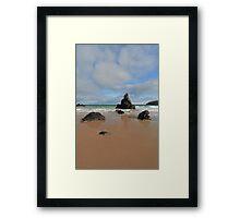 Sunny Day by Sango Bay Framed Print