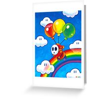 Flight of the Sky Guy Greeting Card