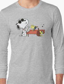 play music group snoopy Long Sleeve T-Shirt