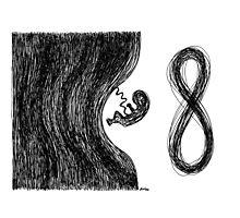 Infinity Sketch Photographic Print
