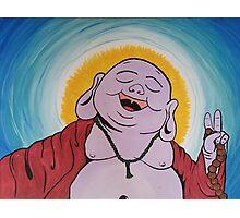 Peace Buddha Photographic Print
